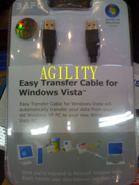 BAFO BF-7313 Easy Transfer Cable for Windows Vista™