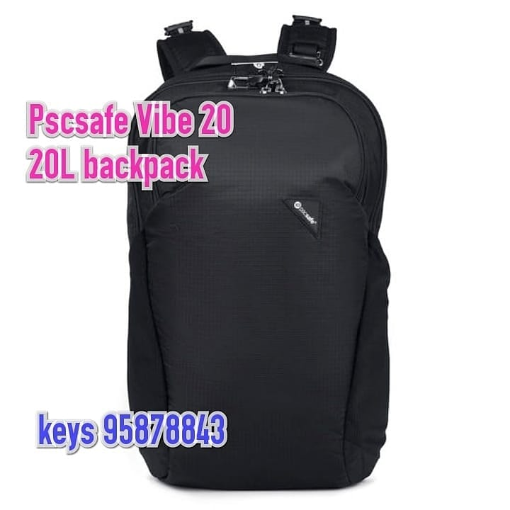 Pacsafe Vibe 20 Anti-theft 20L backpack防盜旅行背囊