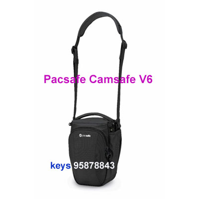 Pacsafe Camsafe V6 anti-theft camera top loader bag