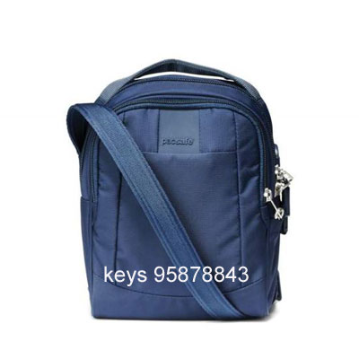 Pacsafe Metrosafe LS100 anti-theft cross body bag -blue